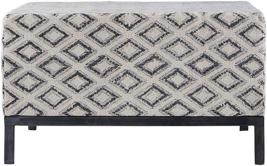 Meubels Gespreid Betalen : House doctor hocker rhombos katoen 80x80 x h45cm designwonen.com